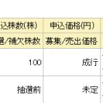 シー・エス・ランバー(7808)申込み!